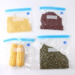 Zipper bag food vacuum (L-Size) | vacuum pumping double-sided textured
