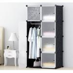 8門加深款簡易組裝衣櫃