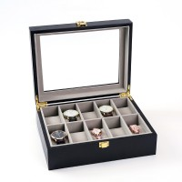 10 epitope piano wood fiber accommodating box watches