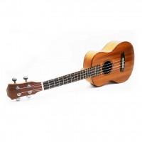 26-inch mahogany veneer small guitar ukulele | Ukulele electric box can be connected EQ