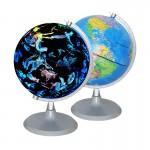 夜光星座地球儀英文版 20cm款式