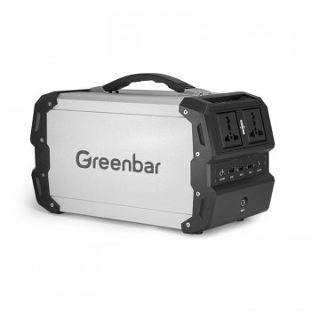 GREENBAR 220V AC Universal Laptop mobile power | car up to 400W power 97200mAh large capacity with a backup power supply
