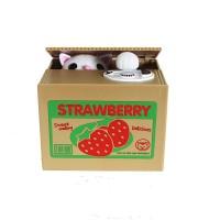 偷錢貓儲蓄罐玩具   儲錢箱 錢罌