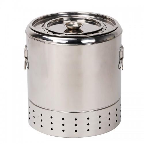 戶外炭燒不銹鋼無煙燒烤爐 (小) | 焚化爐式BBQ燒烤爐