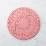 魔法陣QI手機無線充電器 10W版快充音效升級版 - 粉紅色