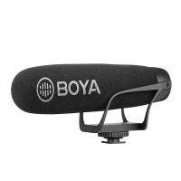 BOYA BY-BM2021 point style radio microphone studio recording microphone | licensed year warranty