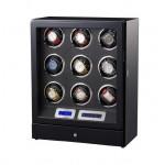 Simplewishes 9表位自動上鍊手錶盒 LED夜燈 開蓋自停