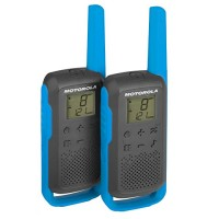 Motorola T-62 Twin Pack walkie-talkie 8KM maximum distance calls | licensed year warranty