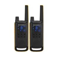 Motorola T-82 Twin Pack walkie-talkie 10KM Maximum distance calls | licensed year warranty