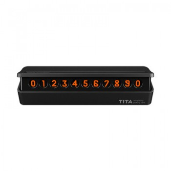 BCASE TITA 汽車電話號碼牌夜光停車牌 安全錘