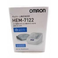 日本歐姆龍 Omron HEM-7122 上臂式電子血壓儀 血壓計 (日版, 日本製造)
