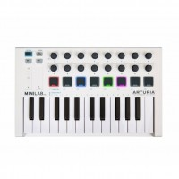 Arturia MiniLab MKII 25 Key Portable Keyboard Midi Controller | MIDI CONTROLLER KEYBOARD