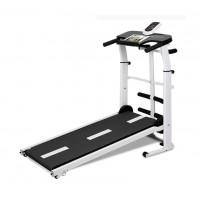 Triple home-mechanical treadmill | Twist machine SITUP sit flat strip holder IPAD