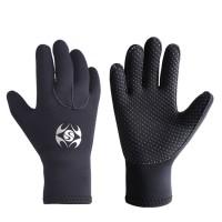 SLINX 3mm slip swimming diving gloves | cold snorkeling wear gloves