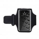 6寸輕薄透氣運動手機臂袋   跑步專用防汗臂包 - 灰色
