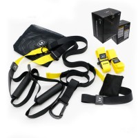 PRO3 TRX suspension training with rally | rally with a home fitness training package multifunction muscle training