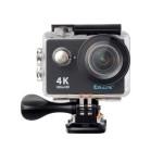 EKEN H9R 4K全高清防水運動相機 帶搖控 | 航拍浮潛潛水戶外極限運動攝像機  - 黑色