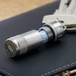 UK True Utility Cashstash+ elastic waterproof storage tank key ring