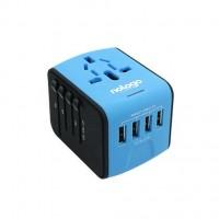 NOLOGO - MQ199 4USB Global Travel Charger USB Universal Plug | Hong Kong licensed