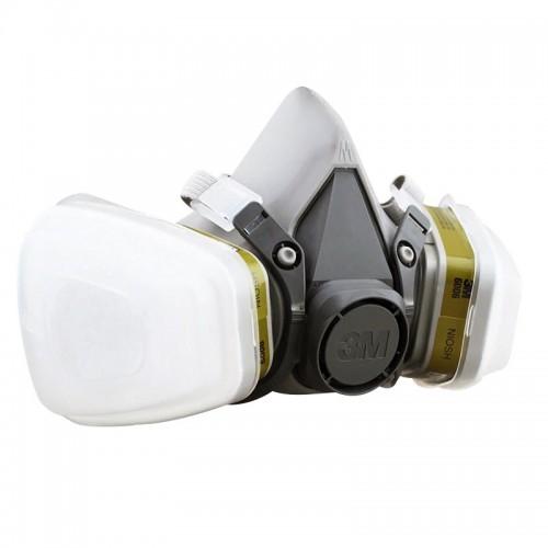 3M 6200+6006+5N11+501 防毒防煙面罩口罩套裝