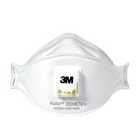 3M Aura 9334CV+ KN95 protective masks One box of three | Anti-fog dustproof Anti-PM2.5