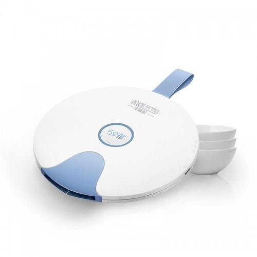 59秒 LED小飛碟紫外線消毒蓋   UVC奶瓶消毒器 嬰兒便攜殺菌燈 水杯消毒蓋 (限時清貨優惠)