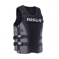 HiSEA - PVC成人款浮力救生衣 | 浮力背心浮水衣 船用釣魚漂流衝浪馬甲