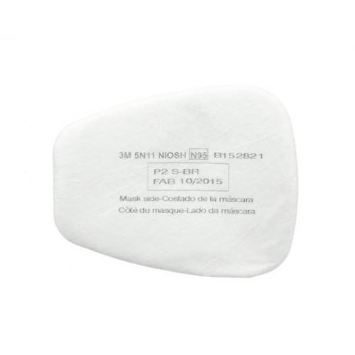 3M 5N11 棉 (一對) | 配合6200及501濾蓋使用  現貨