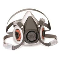 3M 6200 防毒防煙面罩口罩 - 現貨