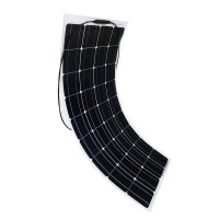 100W flexible monocrystalline solar panel