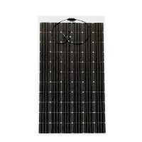 200W flexible monocrystalline solar panel