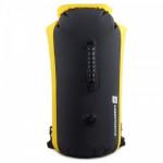 LuckStone 35L 雙肩筒型戶外防水袋 - 黑黃色 | 漂流防水背包