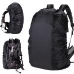戶外防雨防水背囊套 S碼 (30-40L) | 登山背包防雨罩 - 黑色