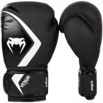 Venum CONTENDER2.0 專業成人泰拳拳套 - 14oz 黑灰白