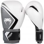 Venum CONTENDER2.0 專業成人泰拳拳套 - 12oz 白灰黑