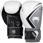 Venum CONTENDER2.0 專業成人泰拳拳套 - 10oz 白灰黑