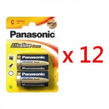 Panasonic LR14-B2 C型鹼性電池 (24粒盒裝)