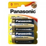 Panasonic LR20-B4 D-Sized Alkaline Batteries (2pcs)