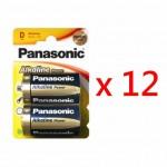 Panasonic LR20-B2 D型鹼性電池 (24粒盒裝)