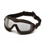 美國 Pyramex V2G-Plus (Clear) 護目鏡 連Rx Insert 近視鏡框 | 軍用規格 防衝擊防霧護目鏡 防爆眼鏡