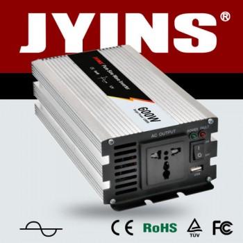 JYINS 600W 功率修正弦波逆變器   12V/24V轉220V
