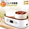 SOUYI SY-110 雙陶瓷蒸煮鍋   多用途煮食蒸爐 蒸菜蒸飯燉湯 香港行貨