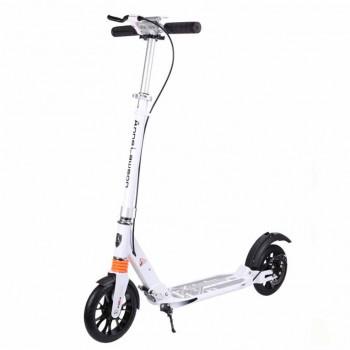 A5D 碟剎款成人滑板車 - 白色 | 抓地大輪 雙減震系統