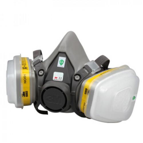 3M 6200+6003+5N11+501 防毒防煙面罩口罩套裝