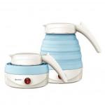 LOHAS 雙電壓摺疊旅行水壺 摺疊式電熱水煲 - 藍色 | 香港行貨