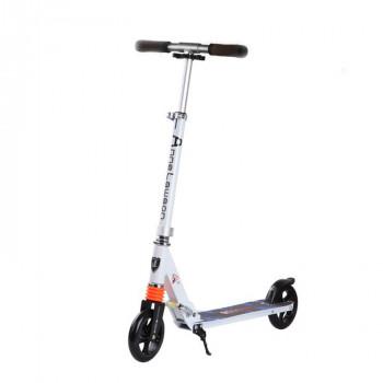 C3 輕量版合金成人滑板車 - 白色 | PU輪可折疊滑板車 兒童成人通用 可調高度