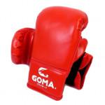 GOMA PU革面10OZ 沙包訓練拳套 | 成人拳擊泰拳手套 - 紅色