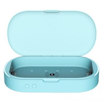 QI 無線充電款UVC紫外線手機消毒機 | 個人隨身物品 鎖匙 消毒盒 手錶首飾除菌消毒器