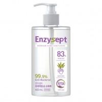 【現貨發售】韓國 ENZYSEPT 83%消毒酒精搓手液 400ml | 殺菌消毒抗菌