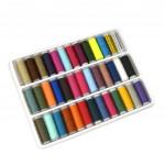 39色縫紉線卷套裝   DIY縫紉機衣車線組合